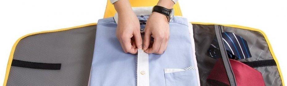 3545290bacbb4dd Как правильно сложить рубашку: в дорогу, в сумку или чемодан, чтобы ...