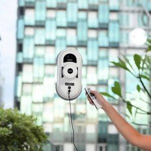 Использование робота для мытья окон популярные модели