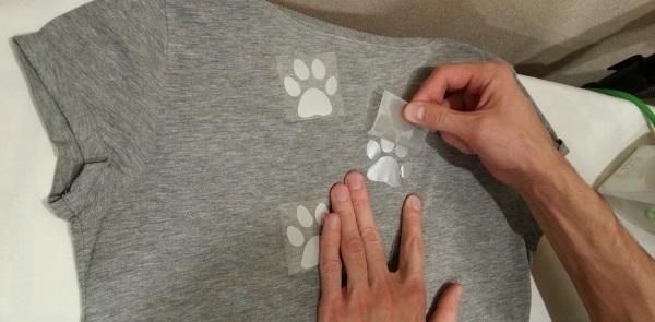 Как приклеить термонаклейку на одежду с помощью утюга, сделать своими руками в домашних условиях